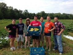 GNGF Team at the giving fields, summer 2013 #givingfields #givingback #volunteering