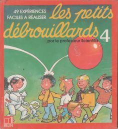 Les petits débrouillards n°4, 49 expériences faciles à réaliser Comic Books, Study, Comics, Movie Posters, France, Physics, Antique Books, Teacher, Kid
