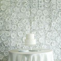 Flower Wall Backdrop, Wall Backdrops, Wedding Backdrops, Wedding Decorations, Backdrop Decorations, Hydrangea Not Blooming, Hydrangea Flower, Silk Hydrangea, Silk Roses
