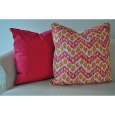 THE WELL APPOINTED HOUSE - ZiZi II Pillow in Pink - Pillows - Decorative