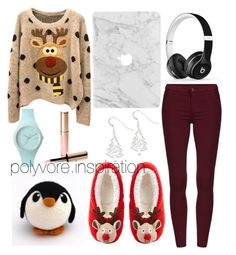 """""""Untitled #182"""" by loveemyself on Polyvore featuring ASOS, Kevin Jewelers, Ice-Watch, By Terry and Beats by Dr. Dre"""