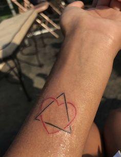 Adoption symbol tattoo