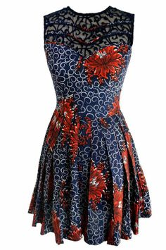 Print Elegant dress by Rahyma on Etsy, $130.00
