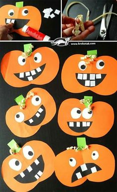 20 Simple Art Craft for Toddlers Make Halloween for yourself: browse through hundreds of Halloween crafting concepts for teens. Easy Halloween Crafts for teens - perfect for young adults, older teens and adults! Make Halloween Diy Halloween, Halloween Infantil, Halloween Arts And Crafts, Theme Halloween, Halloween Designs, Adornos Halloween, Manualidades Halloween, Easy Arts And Crafts, Simple Crafts