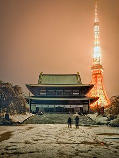 Tokyo under the snow | Flickr - Photo Sharing!