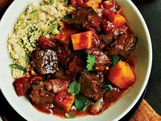 Beef Tagine with Butternut Squash Phase 3 the fast metabolism diet phase 3 recipe the fast metabolism diet recipes Beef Recipes, Cooking Recipes, Healthy Recipes, Beef Tagine Recipes, Fast Recipes, Potato Recipes, Vegetarian Recipes, Beef Tips, Healthy Meals