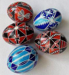 5 Real Ukrainian hand made Pysanky Easter Eggs Ukraine Pisanki Pysanka egg shell Elements And Principles, Elements Of Art, Egg Dye, Ukrainian Easter Eggs, Egg Designs, Easter Traditions, Egg Decorating, Egg Shells, Ukraine