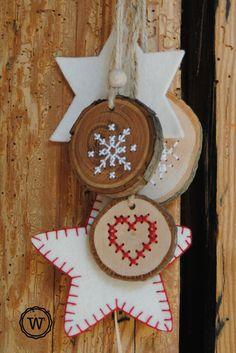 borduren op hout DIY pakket