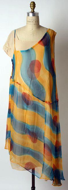 Dress Yohji Yamamoto  (Japanese, born 1943) Date: spring/summer 1990  Culture: Japanese  Medium: a,b) silk