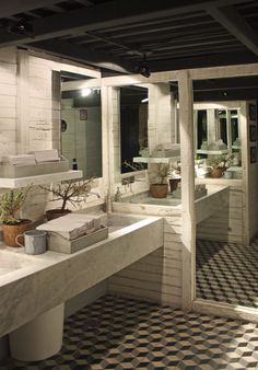 Oliva - Boué Arquitectos - Zona de lavabos