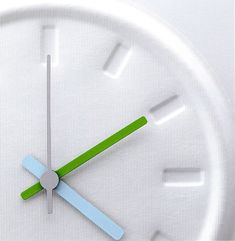 jasper morrison / wall clock / the haptic - awakening the senses' collection / 2004