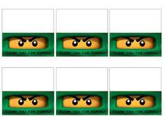 fiesta, Ninjago, imprimibles, recortables, para bolsas de golosinas