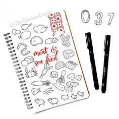 Day 31 of  #THE100DAYPROJECT - 100 days of doodle icons by Apsi ©TheRevisionGuide Doodles and lettering from instagram.com/therevisionguide
