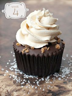 Salted Caramel Chocolate Cupcakes - Cupcake Daily Blog - Best Cupcake Recipes .. one happy bite at a time! Chocolate cupcake recipes, cupcakes