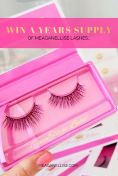 Enter Now For Your Chance To WIN a YEARS SUPPLY of the easiest and most comfortable false eyelashes you'll ever wear... http://upvir.al/ref/s7882463/