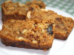 Healthy Date And Walnut Fruit Loaf No Butter Oil Egg) Recipe - Food.com