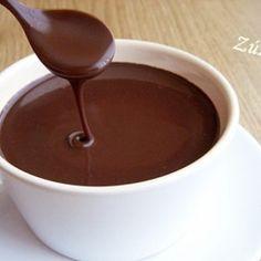 Csokoládészósz Smoothie Fruit, Delicious Desserts, Dessert Recipes, Torte Cake, Hungarian Recipes, Chocolate Ganache, Tart, Deserts, Food And Drink