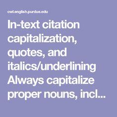 Play   MLA   APA Citation   PSCC Libraries at Pellissippi State