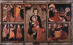 Romanesque Painting Romanesque painting romanesque