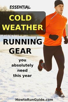 Essential cold weather running gear to keep you safe and warm this fall and winter. Cold Weather Running Gear, Winter Running, Running Workouts, Running Tips, Workout Gear, Running Humor, Yoga Workouts, Workout Outfits, Workout Tanks