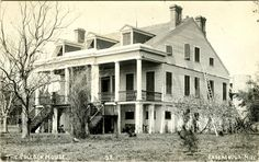 The Pollock House, Pascagoula - Cooper Postcard Collection - Mississippi Department of Archives and History