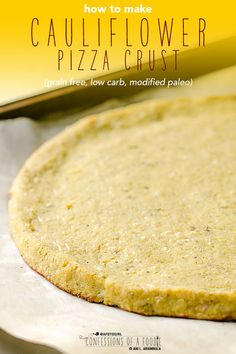 Today& recipe shows how to make cauliflower pizza crust that can serve as a sturdy low carb, grain free base for your favorite toppings, like my favorite, Margherita pizza. How To Make Cauliflower, Cauliflower Crust Pizza, Mexican Food Recipes, Whole Food Recipes, Ethnic Recipes, Book Club Food, Madeleine Recipe, Chocolate Espresso, Fava Beans