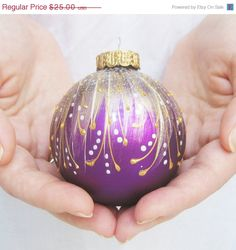 SALE Christmas Ornament  Faberge inspired by SilverOwlStudio