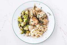 Healthy Chicken recipe   Creamy tarragon chicken & roasted