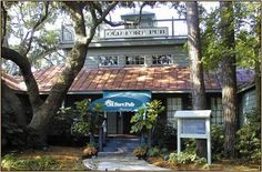 """Old Fort Pub"" Hilton Head Island, SC. On Skull Creek. Great views, nice atmosphere and delicious food."