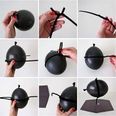 TUTORIAL: DIY Balloon Tie Fighters | MADE