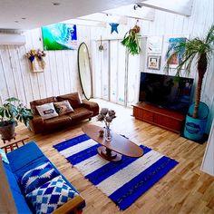 Walls and setup Diy Interior, Room Interior, Interior And Exterior, Interior Design, Surf Room, Surf Decor, American Interior, Cottage Interiors, Cozy Room