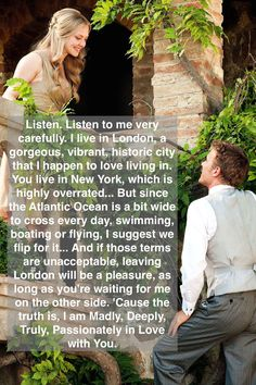 To find a love like this  Letters to Juliet quote