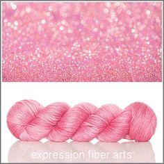 Fairy Dust alpaca silk dk weight - hand-dyed yarn
