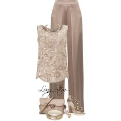A fashion look from May 2017 featuring Miss Selfridge tops, Cushnie Et Ochs pants and René Caovilla sandals. Browse and shop related looks.