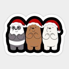We Bare Bears Wallpapers, Panda Wallpapers, Cute Cartoon Wallpapers, Tumblr Stickers, Cool Stickers, Wallpaper Iphone Disney, Cute Disney Wallpaper, Blue Nose Friends, Bear Wallpaper
