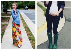 pregnant fashion - nope not preggo... Just thought it was to cute not to post for my next preggo time!