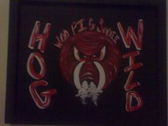 Hog wild canvas