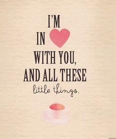 Little Things lyrics