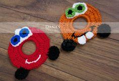 Mater / Lightening McQueen Inspired Crochet by DanasCustomCrochet, $7.00