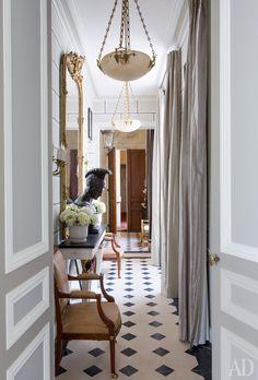 Квартира в Париже по проекту Жана-Луи Денио   AD Magazine