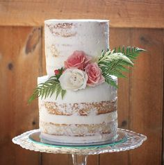 Today's naked cake @