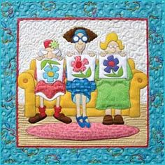 This is darling...quilters all ages and sizes love quilting!