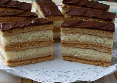 Easter Story, Hungarian Recipes, Pastry Chef, Chef Recipes, Vanilla Cake, Tiramisu, Waffles, Muffin, Food And Drink