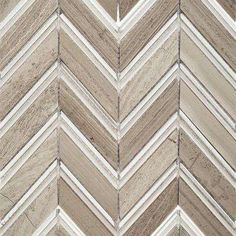 Royal Herringbone Sand 10-1/2 in. x 12 in. x 10 mm Polished Marble Mosaic Tile