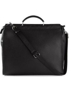 Fendi  selleria Peekaboo  Tote - Stefania Mode - Farfetch.com Best Designer  Brands f1b8238eda7fa