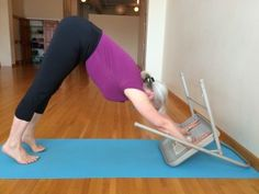 Lift your fingers in downward dog: you'll feel a new awareness in your inner upper arms.