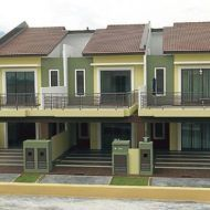 Contoh rumah teres My House Plans, Mansions, House Styles, Home Decor, Decoration Home, Manor Houses, Room Decor, Villas, Mansion