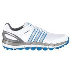 2015 Adidas Pure 360 Gripmore Sport Waterproof Golf Shoes White/Bahia Blue 10.5UK - http://on-line-kaufen.de/adidas/weiss-bahia-blue-2014-adidas-pure-360-gripmore-5