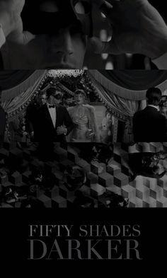 Jamie Dornan as Christian Grey and Dakota Johnson as Anastasia Steele slip into something a shade darker. Fifty Shades Darker Movie, 50 Shades Freed, 50 Shades Darker, 50 Shades Trilogy, Fifty Shades Series, Christian Grey, Movies Showing, Movies And Tv Shows, Anastasia