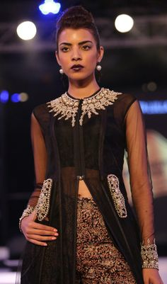 Expect this trend to go viral. Thanks to Neeta Lulla black is finally black again.